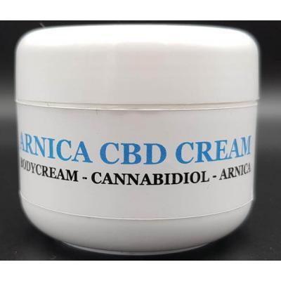 Arnika und CBD Creme gegen Muskelschmerzen - Cannabis King