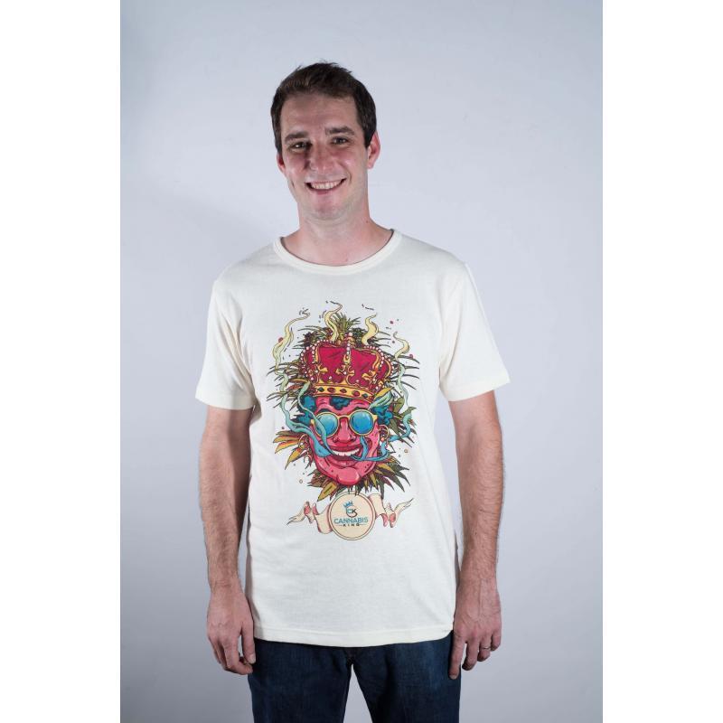 T-shirt Cannabis King by Olivier Bonhomme - Cannabis King
