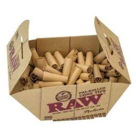Pre-roll cardboard filters - Raw
