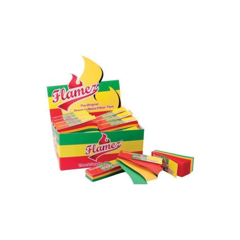 Carton de Filtres Rasta Flamez