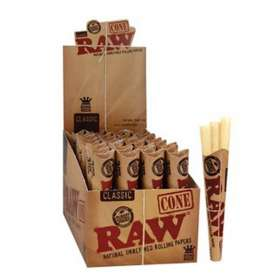 3 x King Size Cones - Raw
