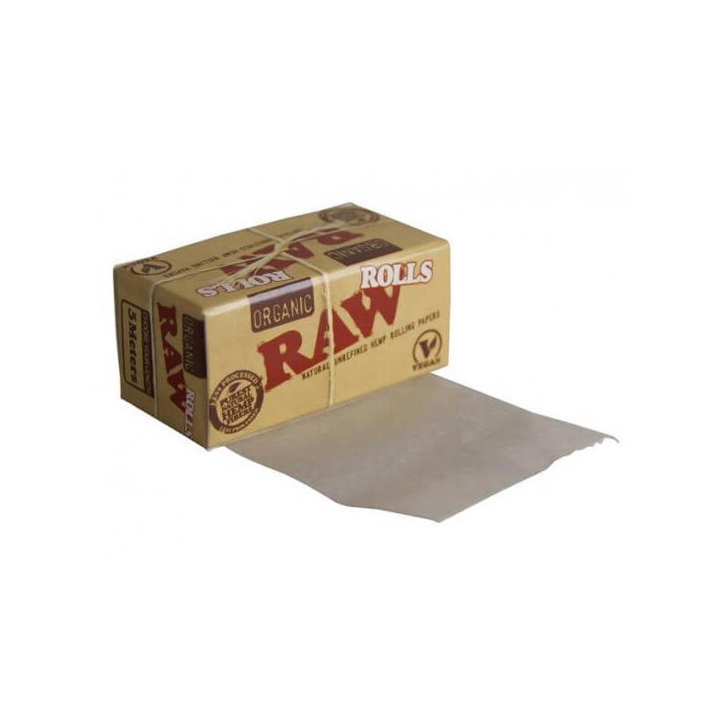 Organic Hemp Rolls 5m - Raw