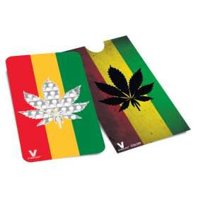 Grinder Card Rasta Hemp Leaf - V Syndicate
