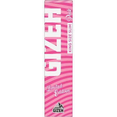 Zigarettenpapier - Gizeh King Size Slim Pink - Limitierte Auflage