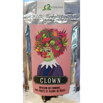 Hemp tea Clown - Licht Witz