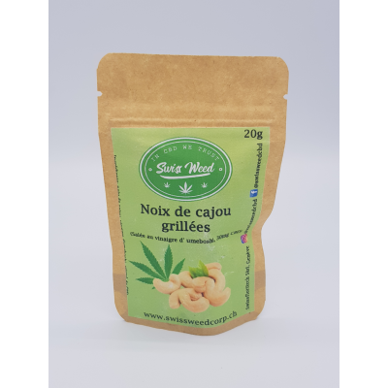 Noix de cajou grillées - Swiss Weed Corp