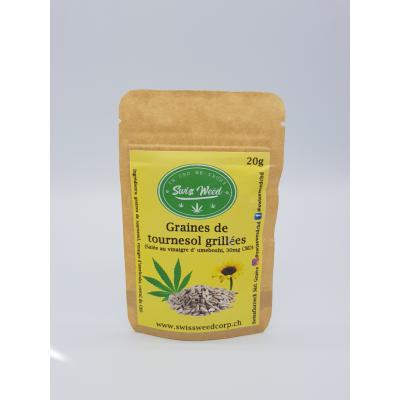 Graines de tournesol grillées - Swiss Weed Corp