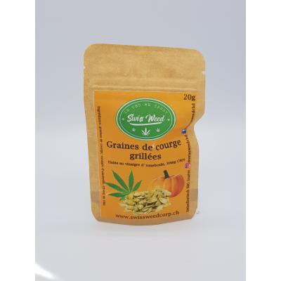 Roasted pumpkin seeds - Swiss Weed Corp