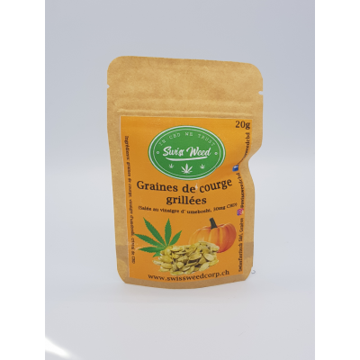 Graines de courge grillées - Swiss Weed Corp