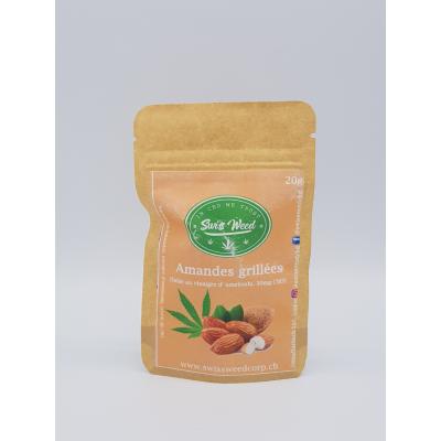 Amandes grillées - Swiss Weed Corp