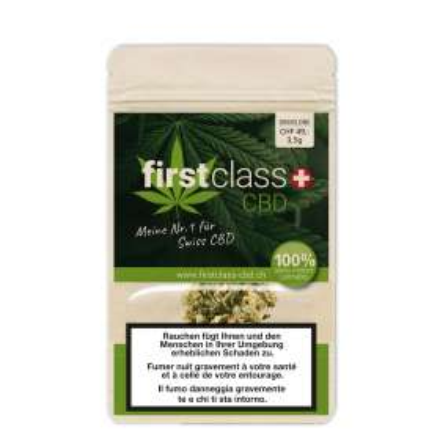 Green One - Firstclass CBD - Schweizer CBD Blüten