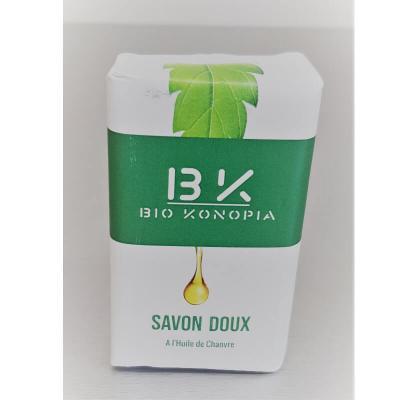 Savon doux à l'huile de chanvre - Biokonopia, Cosmétique