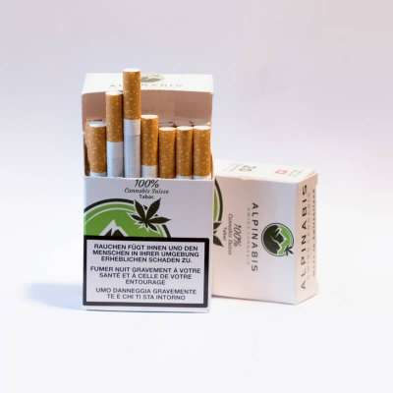 Cigarettes au CBD - Alpinabis