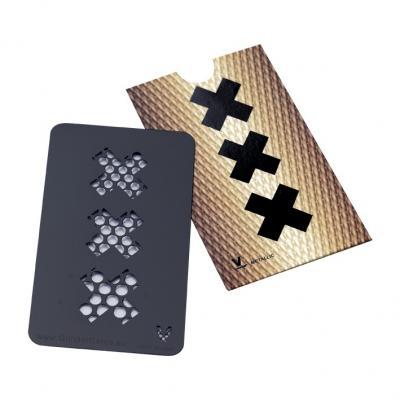 Grinder Card Amsterdam Black - V Syndicate