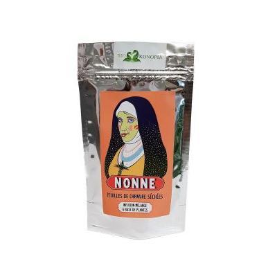 Hanf-Tee Nonne - Licht Witz