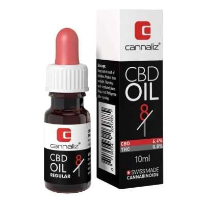 Huile CBD 8/1 CBD/THC ratio - Cannaliz