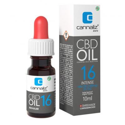 Huile CBD 16% THC 0% - Cannaliz