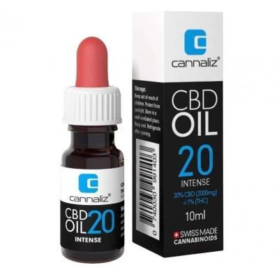Huile CBD 20% - Cannaliz