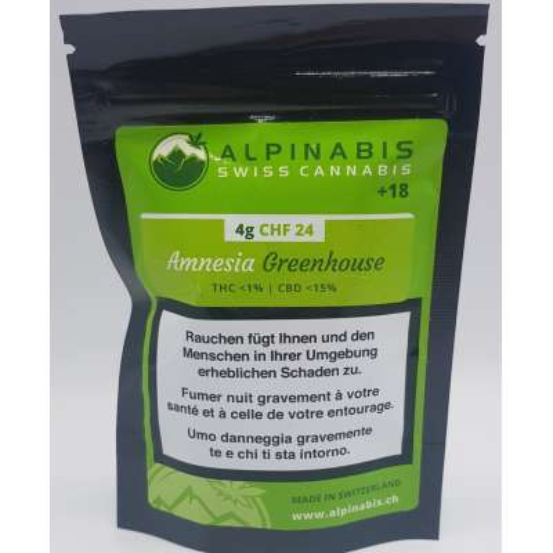 Amnésia Greenhouse - Alpinabis