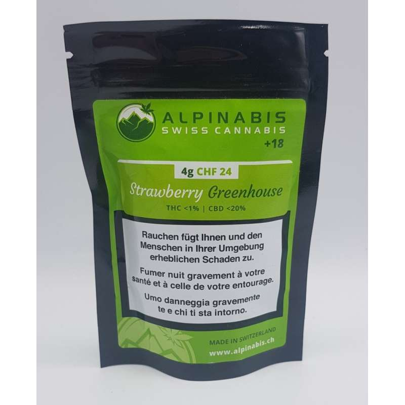 Srawberry Greenhouse - Alpinabis