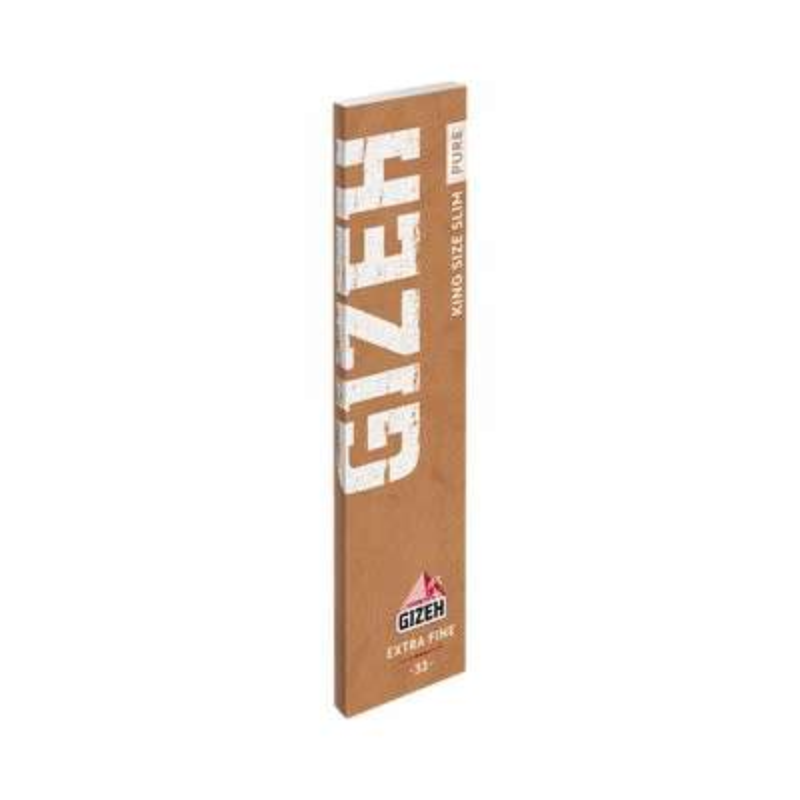 Zigarettenpapier + Filter - Gizeh King Size Slim Pure