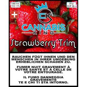 Strawberry Trim - Cannabis King - Cannabis CBD Switzerland