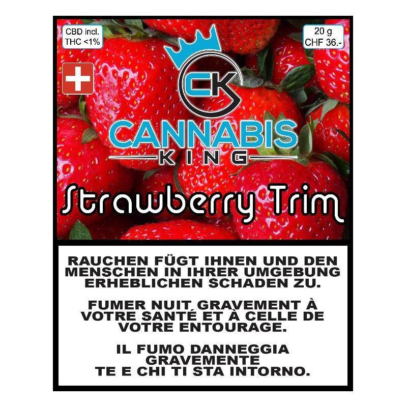 Strawberry Trim - Cannabis King - Schweizer CBD Blüten