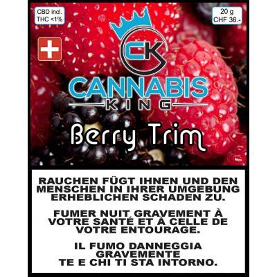 Berry Trim - Cannabis King - Schweizer CBD Blüten