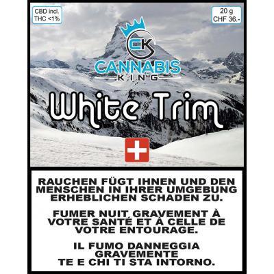 White Trim - Cannabis King - Schweizer CBD Blüten