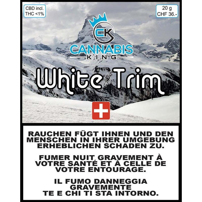 White Trim - Cannabis King - Cannabis CBD Switzerland