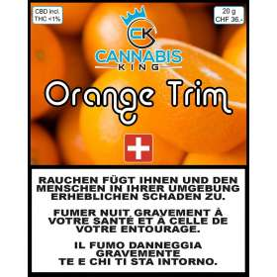 Orange Trim - Cannabis King - Cannabis CBD Suisse