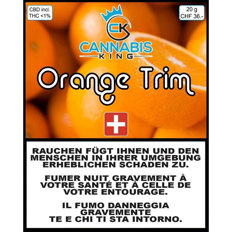 Orange Trim - Cannabis King - Cannabis CBD Switzerland
