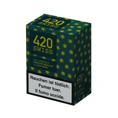 420 Swiss 9g Indoor - Cannabis CBD