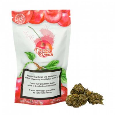 Cherry Punch - Urban Pharm - CBD Blüten