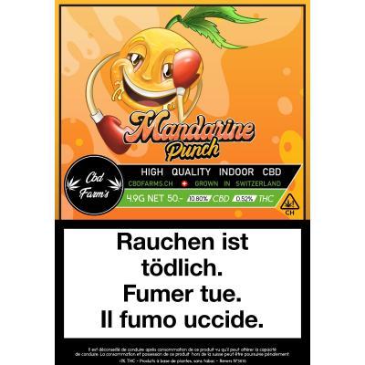 Mandarine Punch - CBD Farm's - Cannabis CBD, Fleurs de CBD