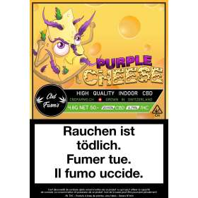 Purple Cheese - CBD Farm's - Cannabis CBD, Fleurs de CBD