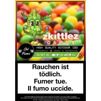 Zkittlez Candy - CBD Farm's - Cannabis CBD, Fleurs de CBD