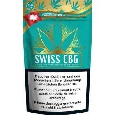 Swiss CBG - Pure production - CBD hemp, CBD flowers