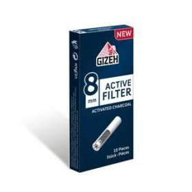 Gizeh - Active Filter 8mm mit Aktivkohle, Filters