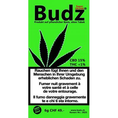 Super Skunk - Budz - Schweizer CBD Blüten, CBD Blüten