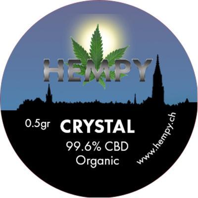Pure CBD Crystal 99.6% - Hempy, DAB