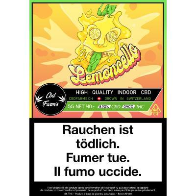Lemoncello - CBD Farm's - Cannabis CBD, Fleurs de CBD