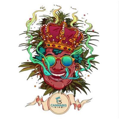 "Autocollant ""Olivier Bonhomme"" blanc - Cannabis King®, Homepage"