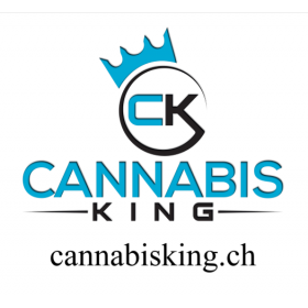 "Sticker ""Cannabis King"" White - Cannabis King®, Cannabis King ®"