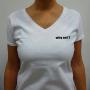 """Weisses """"Why Not?"""" T-Shirt Für Frau von Ivanart - Why Not"""