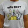 """Hellgrau """"Doctor"""" Unisex T-Shirt von Ivanart - Why Not"""