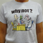 """T-Shirt Gris Clair Unisexe """"Doctor"""" By Ivanart - Why Not"""