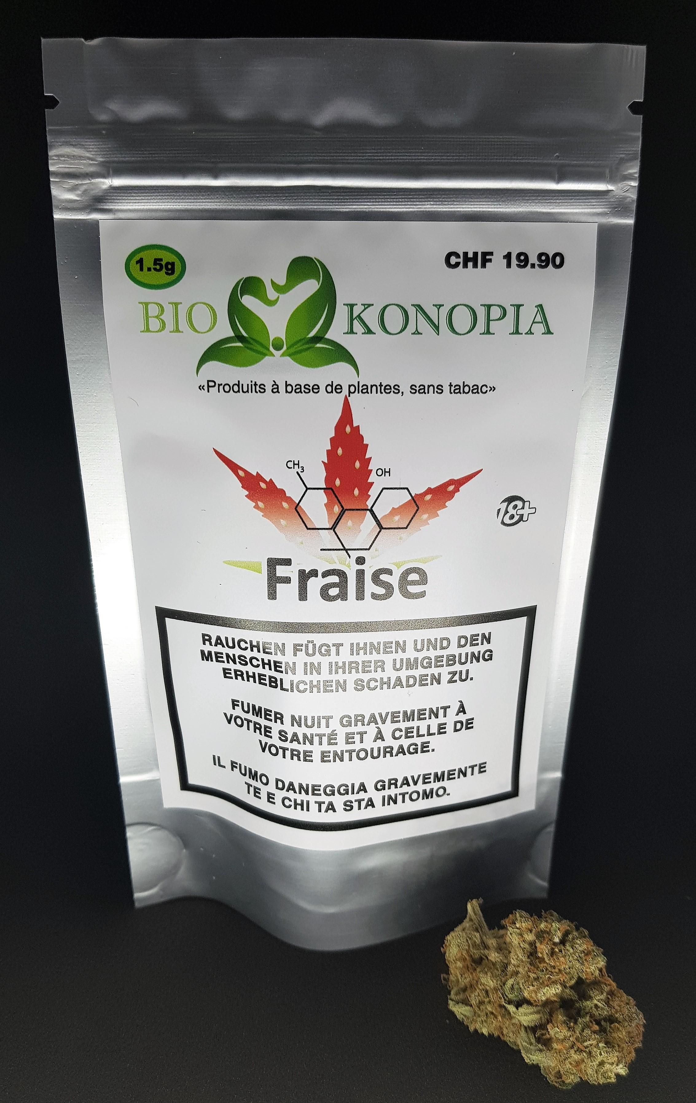Fraise - Biokonopia