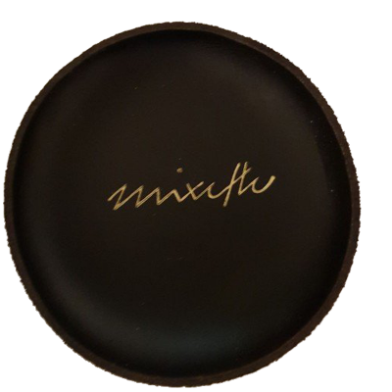Leather mixing bowl - La Mixette