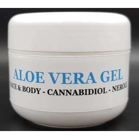 Aloe vera and CBD gel - Cannabis King